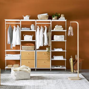 43 piezas y complementos de decoración para conseguir el vestidor de tus sueños