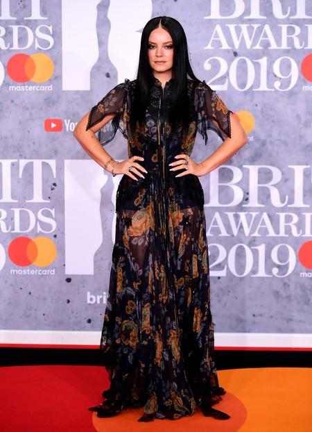 lily allen brit awards 2019