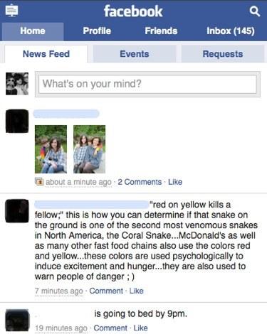 Facebook ofrece una versión para móviles táctiles