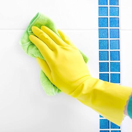 Limpiar juntas del baño