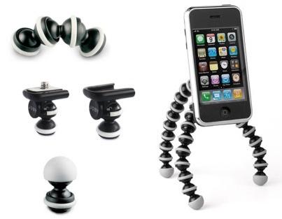 Gorillamobile, el gorillapod para el iPhone