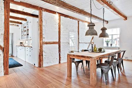 Una impresionante cabaña sueca llena de detalles