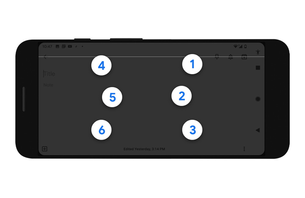 Google integra un teclado para escribir en braille en Android