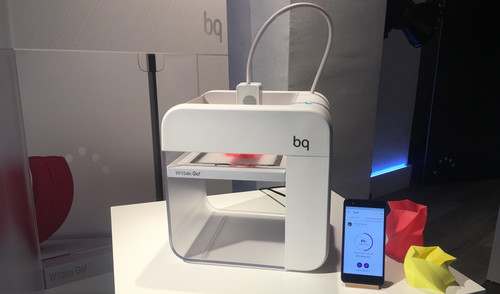 BQ Witbox GO: la primera impresora 3D Android del mundo con chip Qualcomm