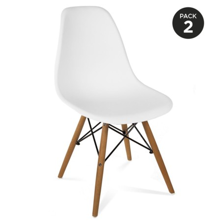 Pack con dos sillas Eames por 59 euros y envío gratis