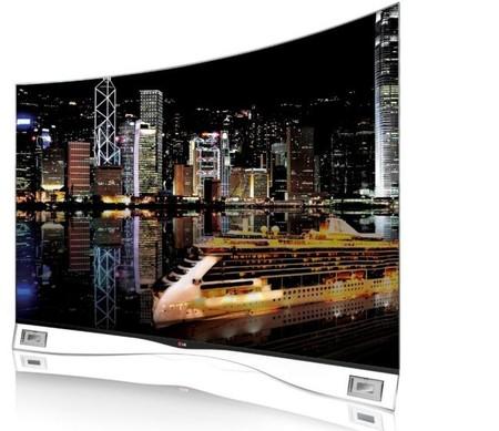 El primer televisor curvo OLED de LG será presentado en Berlín