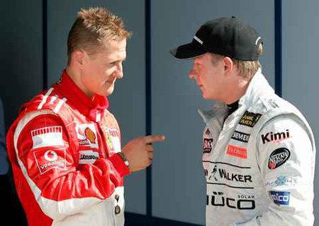 Mercedes Grand Prix: Michael Schumacher y Kimi Raikkonen entre sus candidatos