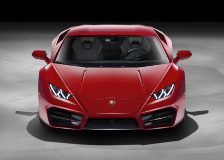 Lamborghini Huracan LP 580-2 Front Red