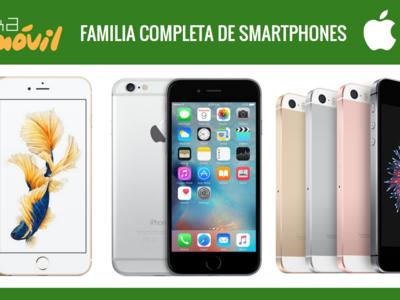 Así queda el catálogo de smartphones Apple tras la llegada del nuevo iPhone SE