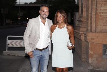 Kike Calleja y su futura mujer acuden al cumpleaños