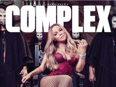 Mariah Carey, portada horterilla y lío en un restaurante, ¡todo en uno!