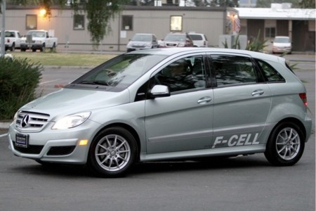 Mercedes-Benz Clase B F-Cell plateado