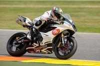 El equipo Triumph Italy BE1 Racing prepara la carrera de Assen