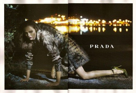 Sasha y Prada Otoño/Invierno 2006