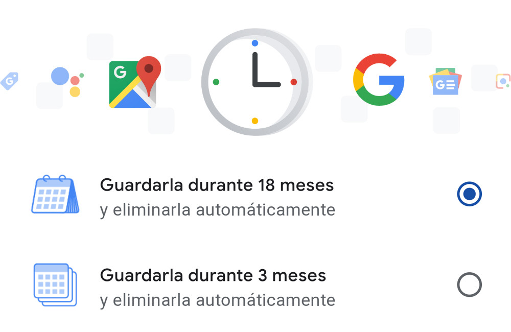 How to automatically delete the activity history from your Google account
