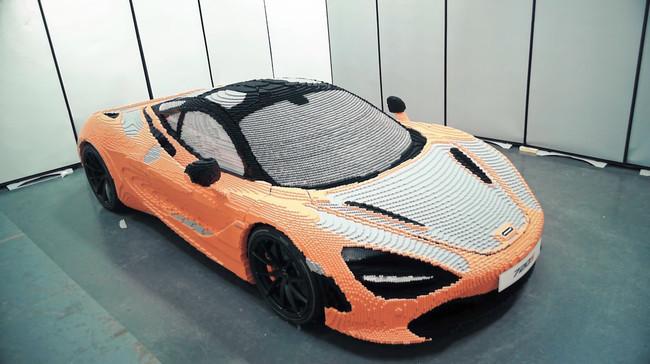 En video: Así se arma un McLaren 720S con 280,000 piezas de Lego