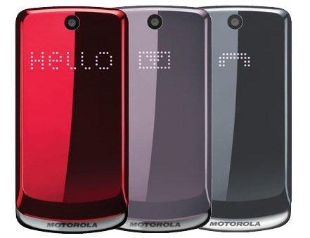 motorola gleam colour