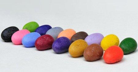 Crayon Rocks, ceras de colores con forma de piedras