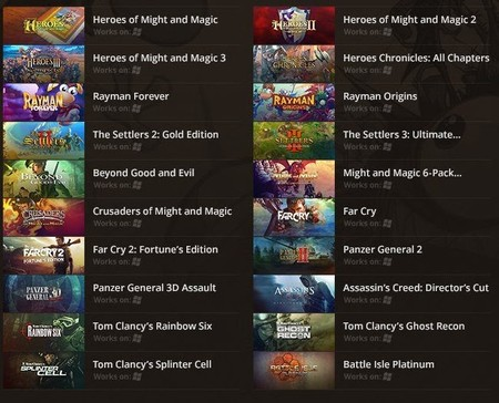Hay mucho clásico de Ubisoft de oferta en GOG