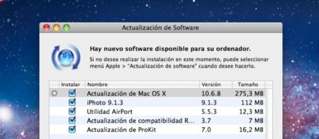 OS X 10.6.8 ya disponible, un paso más cerca de Lion