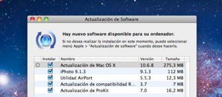 OS X 10.6.8 ya disponible, un paso más cerca de Lion
