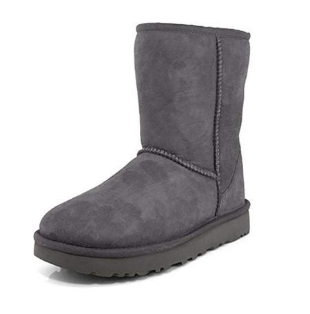 Ugg Classic Short Ii Grey Botas De Nieve Para Mujer