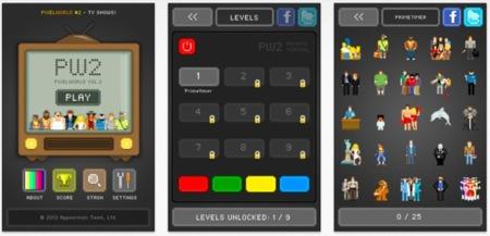 PixelWorld, un divertidísimo juego para poner a prueba tus conocimientos de series