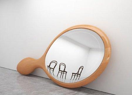 Un espejo XXL