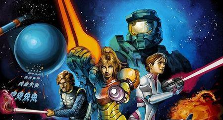 Imagen de la semana: 'Video Wars', los juegos llegan al espacio
