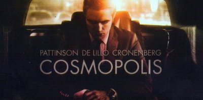 'Cosmopolis', carteles de lo nuevo de David Cronenberg, con Robert Pattinson