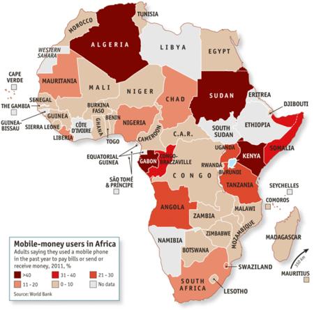 Pagos con el móvil en África