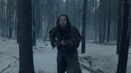 DiCaprio en The Revenant