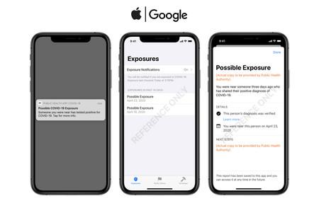 Así es la propuesta de app sobre notificación de exposición al COVID-19 que Apple y Google ofrecen a los gobiernos