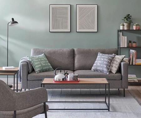 Funcional, se adapta a cualquier espacio, y cuesta menos de 300 euros. Así es el sofá más barato de El Corte Inglés