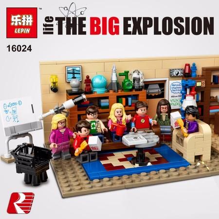 24 réplicas (casi) perfectas de Lego de la marca Lepin: desde la Estrella de la Muerte a Big Bang Theory