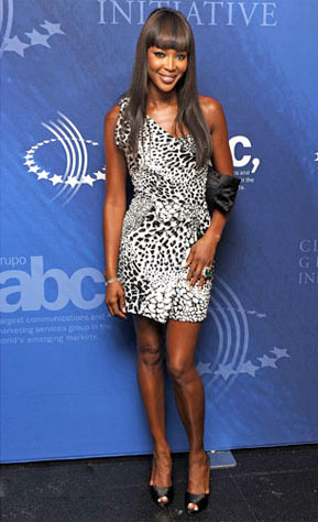 Naomi Campbell Has Joined The Trend Animal Print
