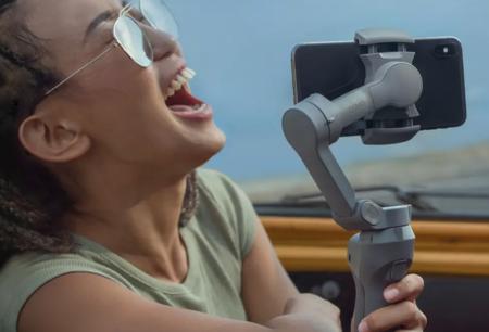 El gimbal DJI Osmo Mobile 3 a precio mínimo histórico en Amazon: exprime la cámara de tu móvil con este estabilizador a 79 euros