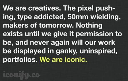 Lo nuevo en portafolios para fotógrafos se llama Iconify