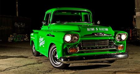 La conversión de una pickup clásica a eléctrica en una serie documental
