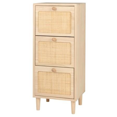 Pequeno Mueble De Almacenaje Con 3 Cajones Rosa Y Rejilla 1000 5 12 205586 2