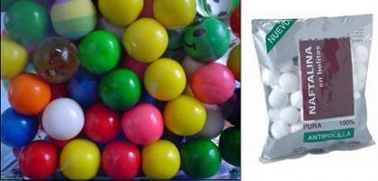 Los productos de limpieza que se asemejen en forma a caramelos serán retirados del mercado en España
