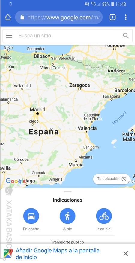 Webapp Google Maps