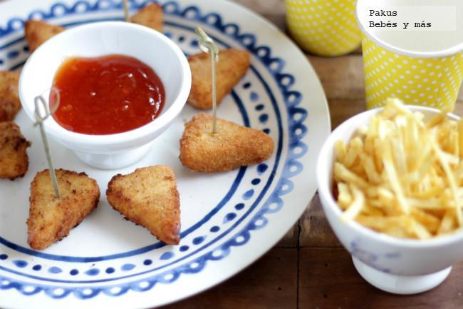 Quesitos en porciones empanados receta de aperitivo para - Preparacion de cumpleanos infantiles ...
