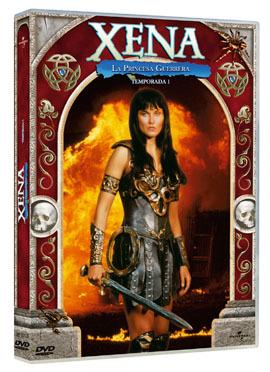 'Xena, la princesa guerrera' sale por fin en DVD
