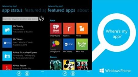 Where's my app? Microsoft te encuentra la aplicación que buscas en Windows Phone