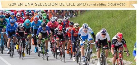 20% de descuento en una selección de ciclismo en Amazon durante el mes de abril