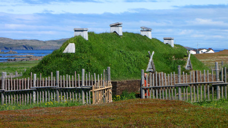 1024px L Anse Aux Meadows Recreated Long House