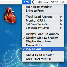 "Heart Monitor: Monitor de CPU ""orgánico"""