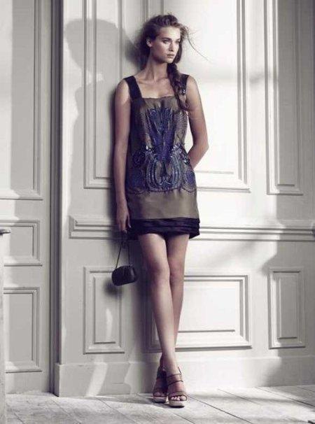 vestido corto hoss