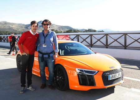 Audi R8 V1 Plus, Miguel Molina y Héctor Ares